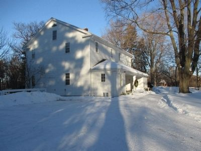 Quaker Meetinghouse - West Side image. Click for full size.