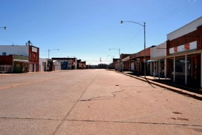 Downtown Baird image. Click for full size.