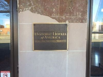 St. James Hotel designated a Historic Hotel of America. image. Click for full size.