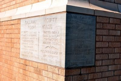 1929 Cornerstone of Courthouse image. Click for full size.
