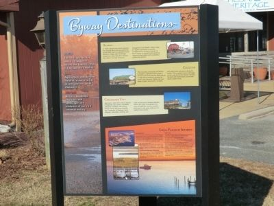 Byway Destinations Marker image. Click for full size.