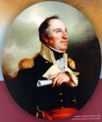 Brigadier General John Stricker. image. Click for full size.