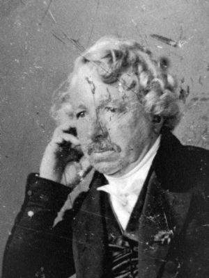 Louis-Jacques-Mandé Daguerre<br>by Charles R. Meade, 1848 image. Click for full size.