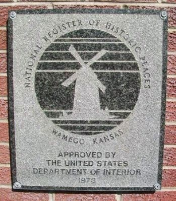 Old Dutch Mill NRHP Marker image. Click for full size.