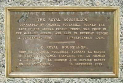 The / Le Royal Roussillon, Marker image. Click for full size.