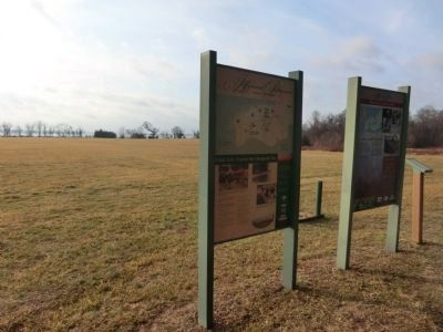 Jefferson Patterson Park & Museum Marker with the Patuxent River in the background image. Click for full size.
