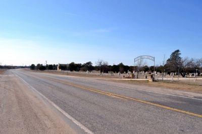 View to South from US 283 Towards Baird image. Click for full size.