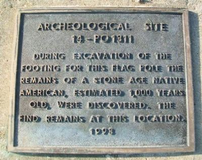Archeological Site 14-PO1311 Marker image. Click for full size.