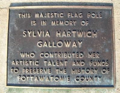 Sylvia Galloway Marker image. Click for full size.