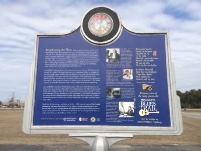 Broadcasting the Blues Marker (Rear) image. Click for full size.