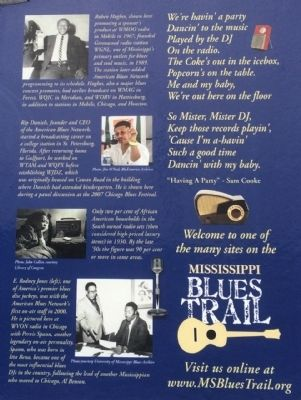Broadcasting the Blues Marker (Closeup) image. Click for full size.