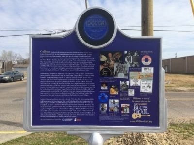 Gulfport Boogie Marker (Rear) image. Click for full size.