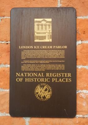 London Ice Cream Parlor Marker image. Click for full size.
