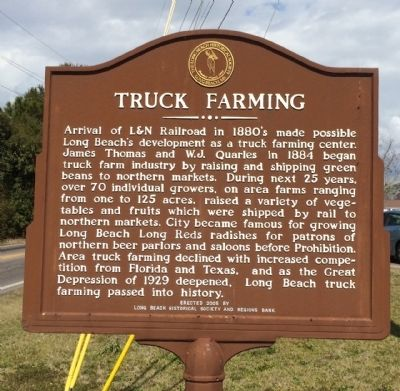 Truck Farming Marker image. Click for full size.