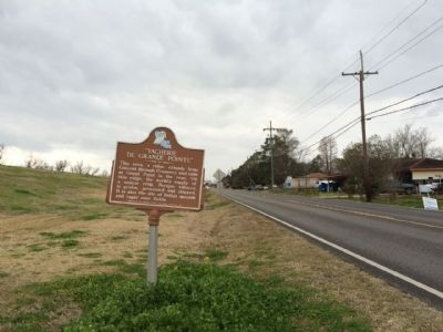 Marker looking west on LA-44 image. Click for full size.