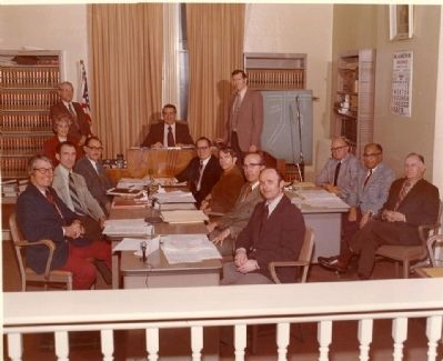 Bellefontaine City Council 1974 image. Click for full size.