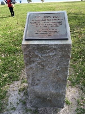 The Liberty Bell Marker Monument image. Click for full size.