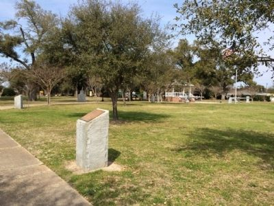 Bell marker is at center background. image. Click for full size.