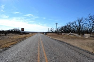 View to West from FM 1812 image. Click for full size.