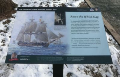Raise the White Flag Marker image. Click for full size.