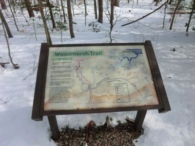 Woodmarsh Trail Map image. Click for full size.