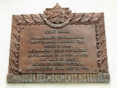 Kent House Marker image. Click for full size.