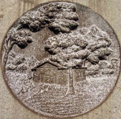 Battle Ground Methodist Episcopal Church Medallion image. Click for full size.