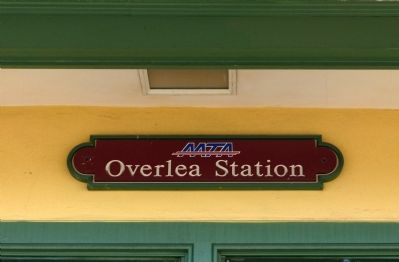 Overlea MTA Station image. Click for full size.