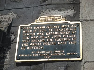 First Polish Colony Marker image. Click for full size.