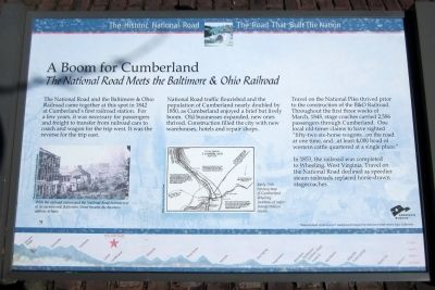 A Boom for Cumberland Marker image. Click for full size.