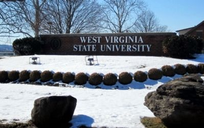 West Virginia State University entrance image. Click for full size.