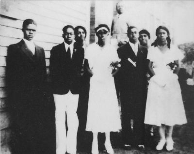 Five Graduates, 1932 image. Click for full size.