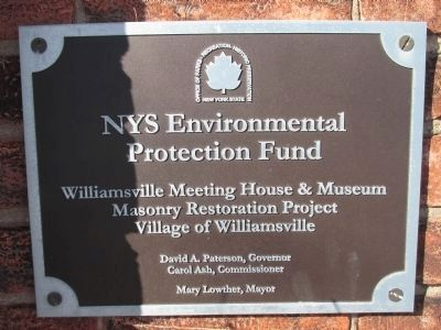 Funding Plaque image. Click for full size.