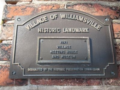 Village Plaque image. Click for full size.