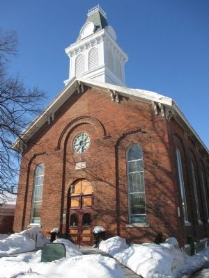 Williamsville Christian Church - Front image. Click for full size.