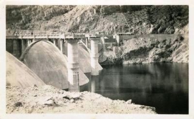 Coolidge Dam image. Click for full size.