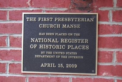 The Manse Marker image. Click for full size.