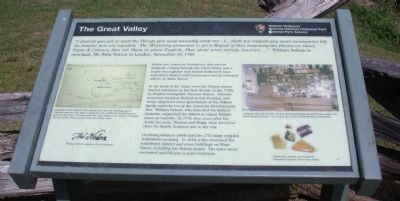 The Great Valley Marker image. Click for full size.