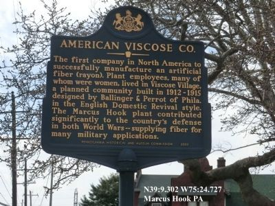 The above marker is near the The Factory and the Village Marker image. Click for full size.