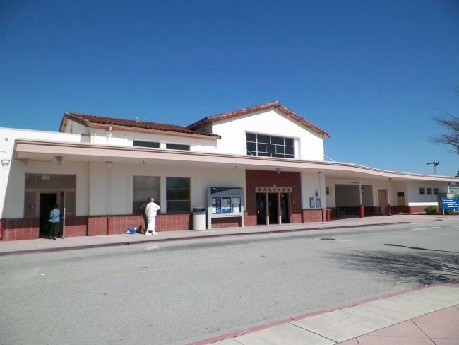 The Salinas Railway Station image. Click for full size.