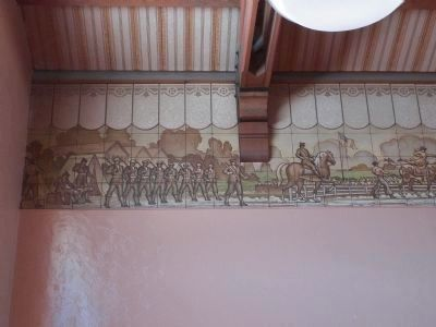 Artwork inside the station. 1 image. Click for full size.