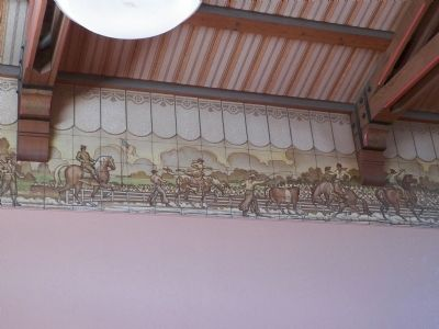 Artwork inside the station. 2 image. Click for full size.