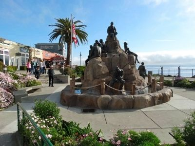 The Cannery Row Monument image. Click for full size.