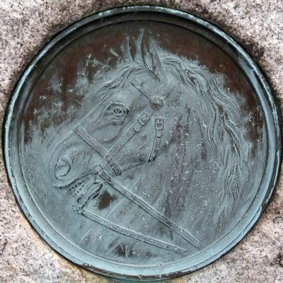 Horse Medallion image. Click for full size.