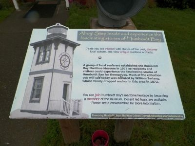 Humboldt Bay Maritime Museum Marker image. Click for full size.