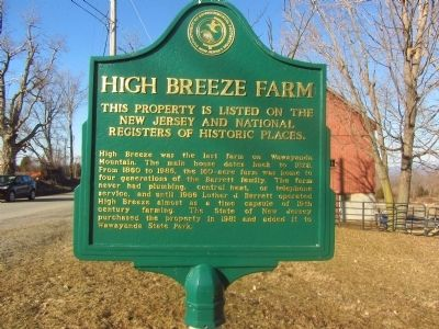High Breeze Farm Marker image. Click for full size.
