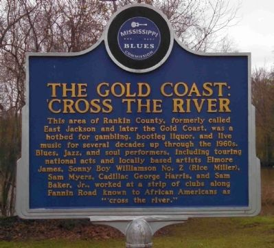 The Gold Coast: 'Cross the River Marker image. Click for full size.