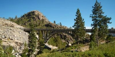 Donner Summit (Rainbow) Bridge image. Click for full size.