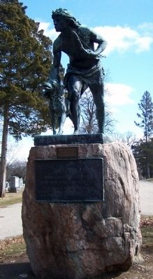 John Quincy Adams Ward Sculpture image. Click for full size.