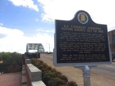 Voting Rights Act of 1965 Marker image. Click for full size.